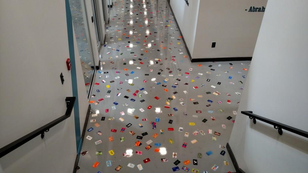 gift card hallway
